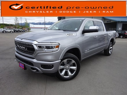 Featured Used 2019 Ram All-New 1500 Limited Truck Crew Cab for Sale near Evergreen, MT