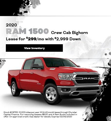 2020 Ram 1500 Crew Cab Bighorn