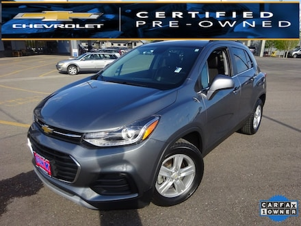 Featured Used 2020 Chevrolet Trax LT SUV for Sale near Evergreen, MT