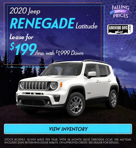 2020 Jeep Renegade - September