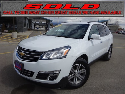 Featured Used 2016 Chevrolet Traverse LT w/1LT SUV for Sale near Evergreen, MT