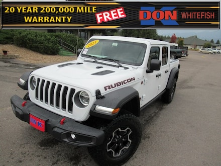Featured New 2021 Jeep Gladiator RUBICON 4X4 Crew Cab for Sale in Whitefish, MT