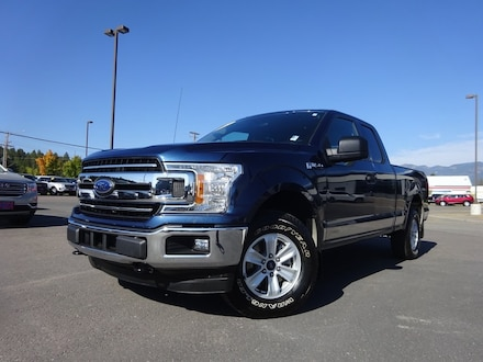 Featured Used 2018 Ford F-150 Truck SuperCab Styleside for Sale near Evergreen, MT