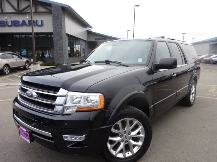 Used 2015 Ford Expedition EL Limited SUV for sale near Kalispell MT