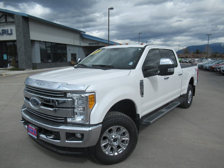 Used 2017 Ford F-250SD Lariat Truck Crew Cab for sale near Kalispell MT