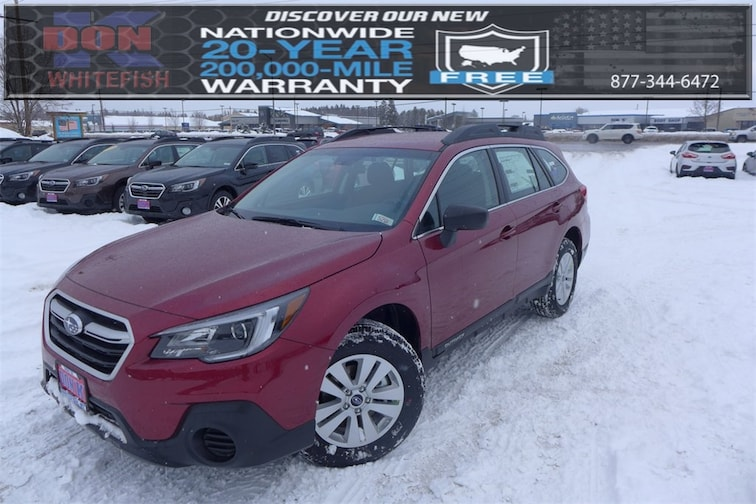 New 2019 Subaru Outback 2.5i SUV in Whitefish, MT