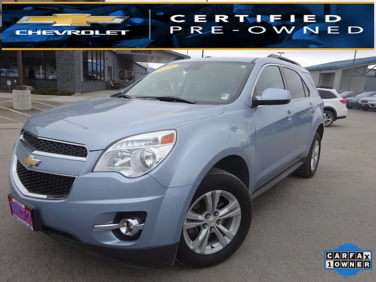Used 2015 Chevrolet Equinox LT 2LT SUV for sale near Kalispell MT