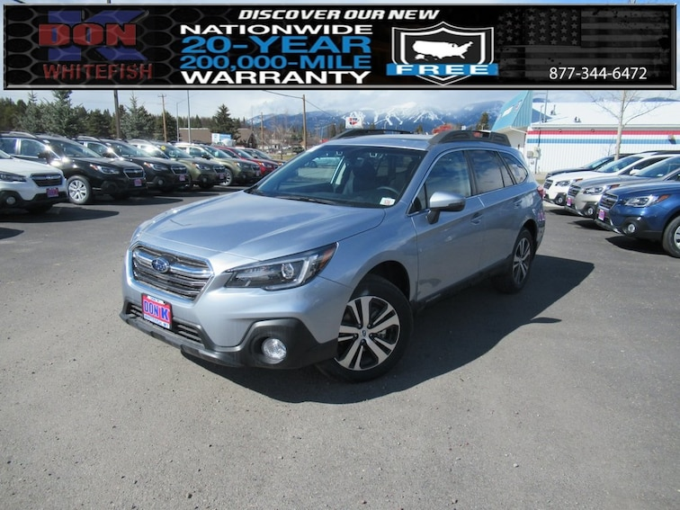 New 2019 Subaru Outback 2.5i Limited SUV in Whitefish, MT