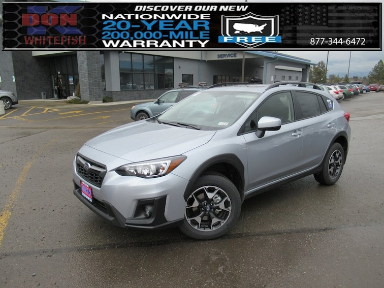 New 2019 Subaru Crosstrek 2.0i Premium SUV in Whitefish, MT