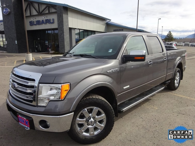Used 2013 Ford F-150 XLT Truck SuperCrew Cab for sale near Kalispell MT