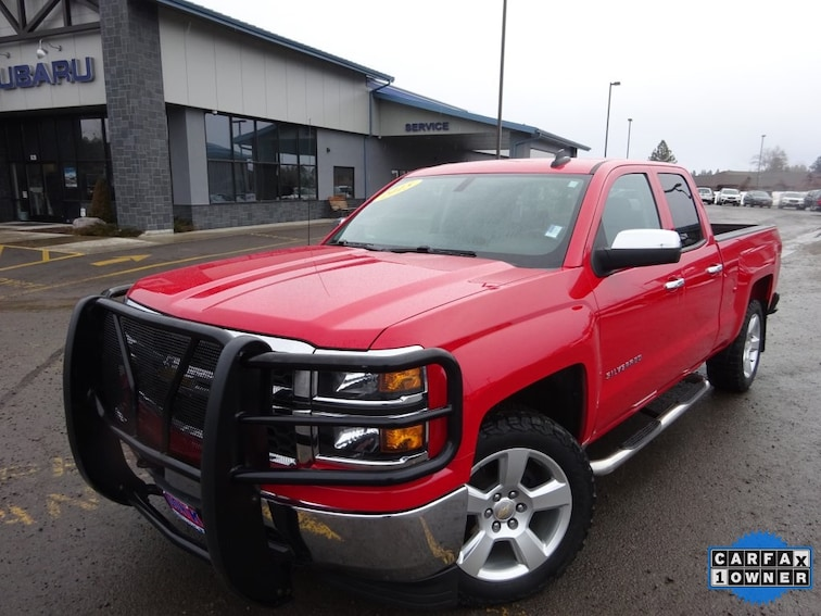 Used 2015 Chevrolet Silverado 1500 LS Truck Double Cab for sale near Kalispell MT