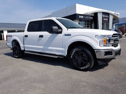 2018 Ford F-150 XL/XLT/Lariat/King Ranch/Platinum/Limited Crew Cab Pickup - Short Bed