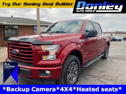 Featured used 2017 Ford F-150 XLT Truck for sale in Ashland, OH