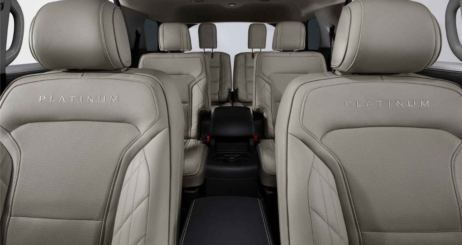 2018 Ford Explorer Interior Seating