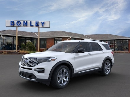 Featured New 2020 Ford Explorer Platinum SUV for Sale in Shelby, OH