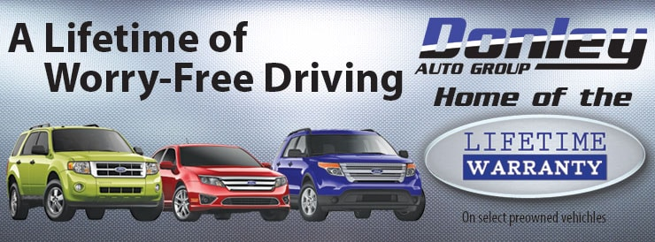 Donley Ford Lincoln Of Ashland Home Of The Lifetime Warranty