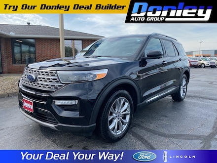 Featured Used 2020 Ford Explorer Limited SUV for Sale near Mansfield, OH