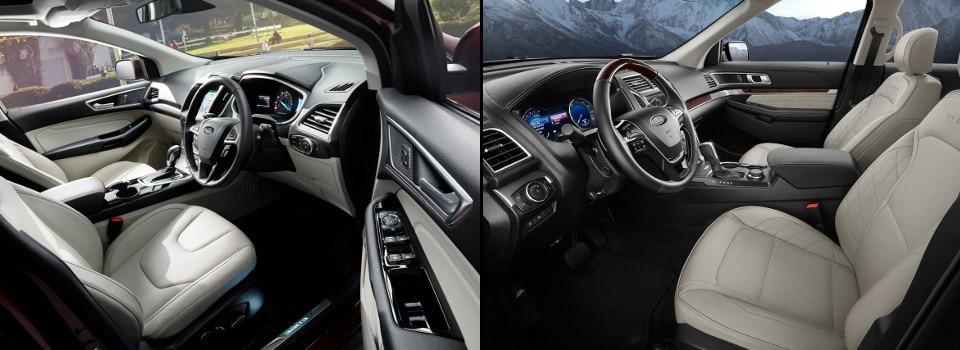 Ford Edge Vs Explorer
