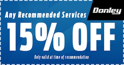 15% Off Any Recommended Services!