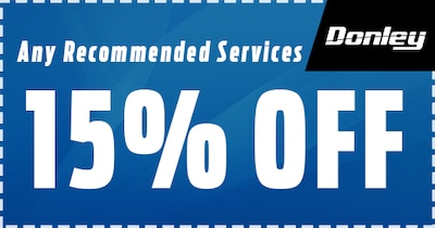 15% Off Any Recommended Services