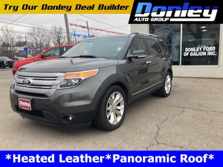 Featured Used 2015 Ford Explorer XLT SUV for Sale near Mansfield, OH
