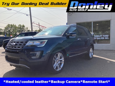 Featured used 2017 Ford Explorer Limited SUV for sale in Ashland, OH