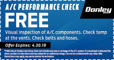 A/C Performance Check