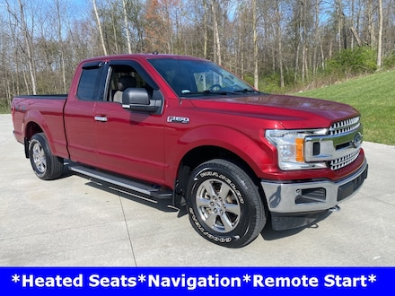 Featured used 2018 Ford F-150 XLT Truck for sale in Ashland, OH