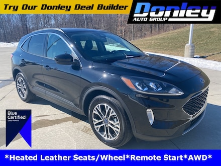 Featured Used 2020 Ford Escape SEL SUV for Sale near Mansfield, OH