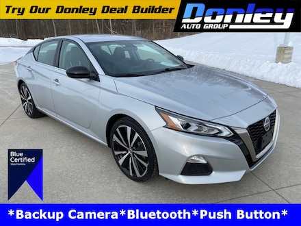 Featured Used 2019 Nissan Altima 2.5 SR Sedan for Sale near Mansfield, OH