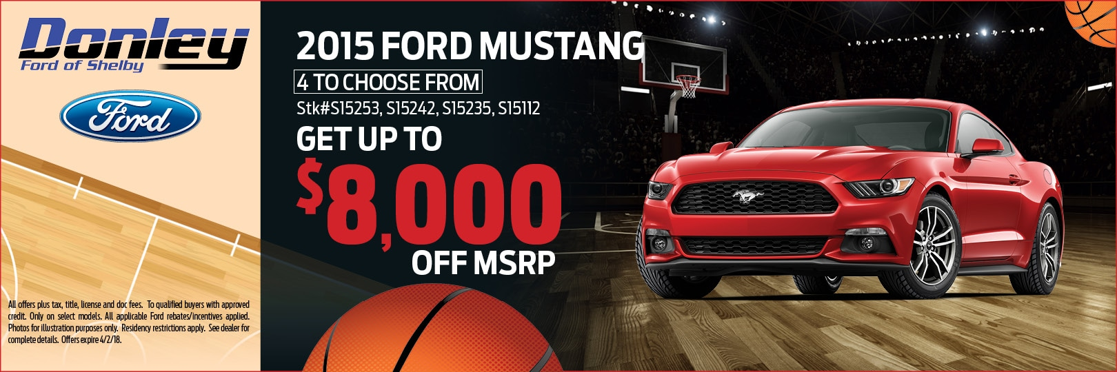 2015 Ford Mustang in Shelby, OH