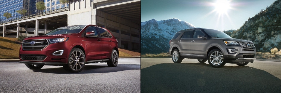 Ford Edge And  Ford Explorer
