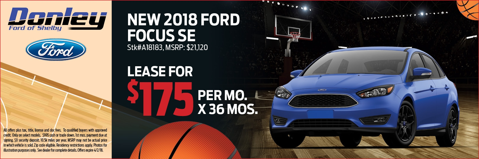 2018 Ford Focus SE in Shelby, OH