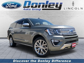 New 2019 Ford Expedition Max Platinum Sport Utility in Shelby, OH