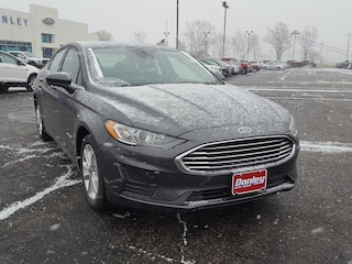 New 2019 Ford Fusion S Car in Shelby, OH