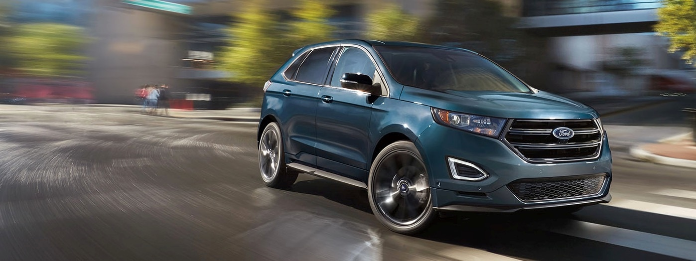 The Ford Edge Is A Two Row Five Seat Mid Sized Crossover Suv With Over  In Of Rear Legroom Up To   Cu Ft Of Cargo Space When The Rear Seats Are