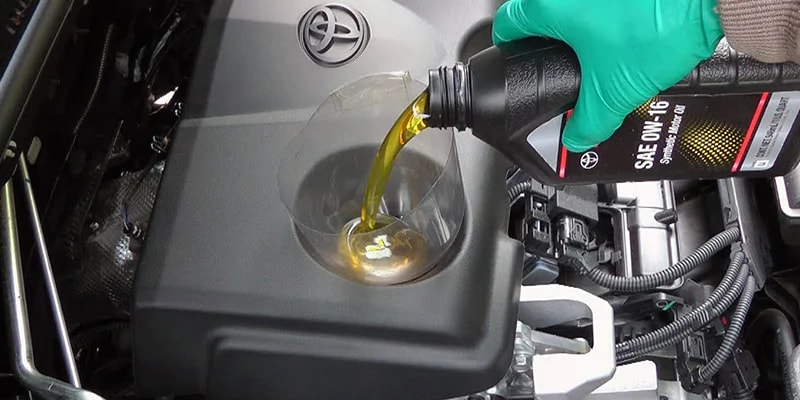 Toyota Oil Change
