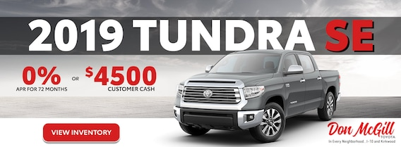 Toyota Lease Deals >> New Toyota Car Truck Specials Don Mcgill Toyota In Houston Near