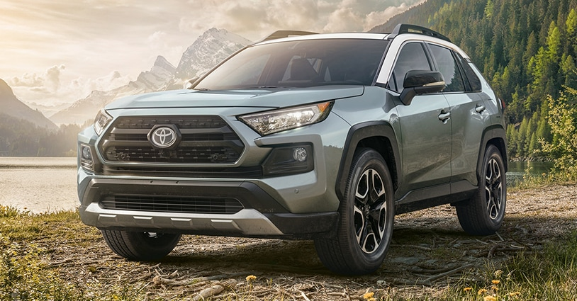 New 2020 RAV4 Don McGill Toyota