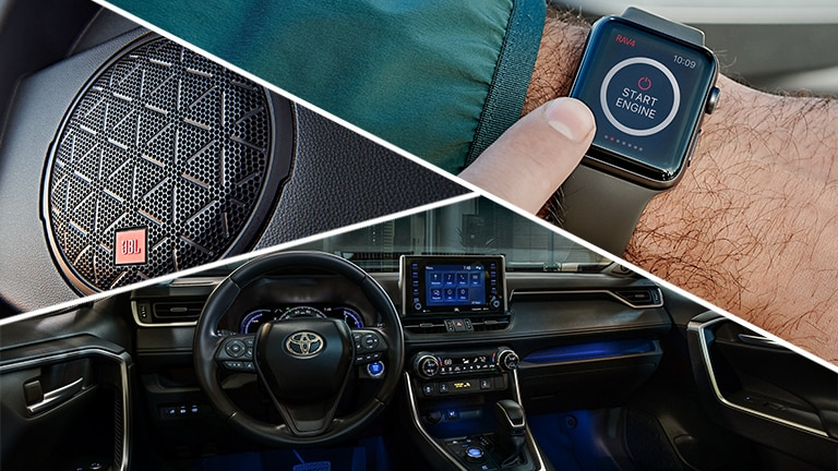 New 2019 Toyota RAV4 Technology
