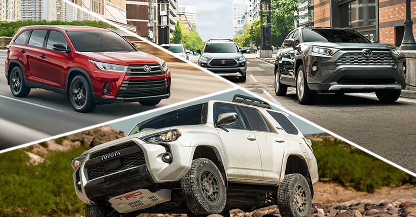 New SUV Models Don McGill Toyota