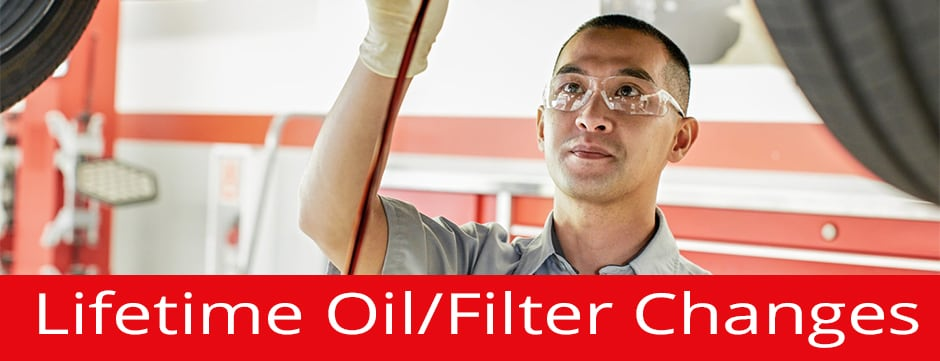 Lifetime Oil/Filter Changes
