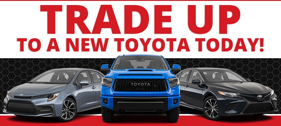 Don McGill Toyota of Houston Trade Upgrade Program