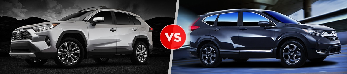 2019 Toyota RAV4 Comparison