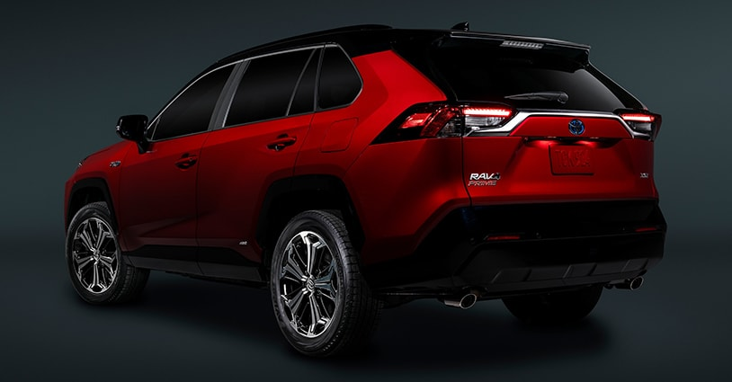 New 2021 RAV4 Prime Toyota of Katy