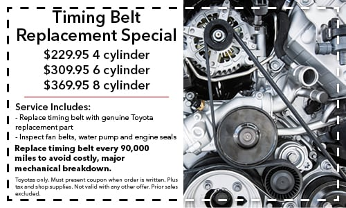 Toyota Corolla Timing Belt Replacement Cost