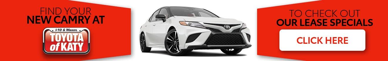 Toyota Camry For Sale | Toyota of Katy | Near Cypress, Texas