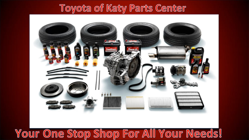 Toyota of Katy Parts Center