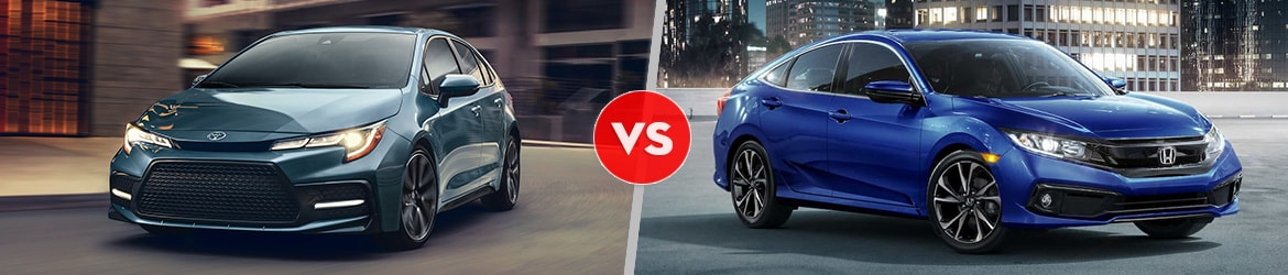 2020 Toyota Corolla Comparison