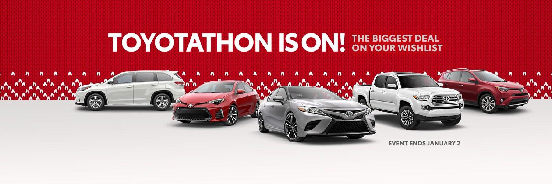 Toyotathon Is On At Don Mcgill Toyota Of Katy Toyota Of Katy